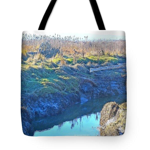 Fir Island November Tote Bag