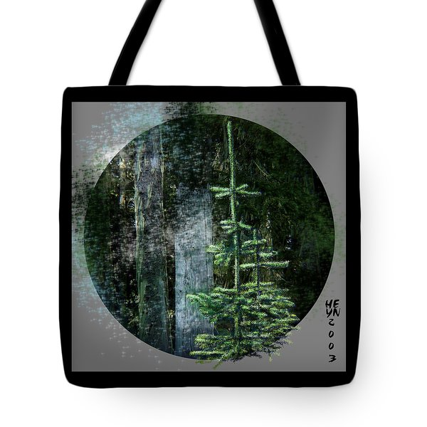 Fir Trees - 3 Ages Tote Bag