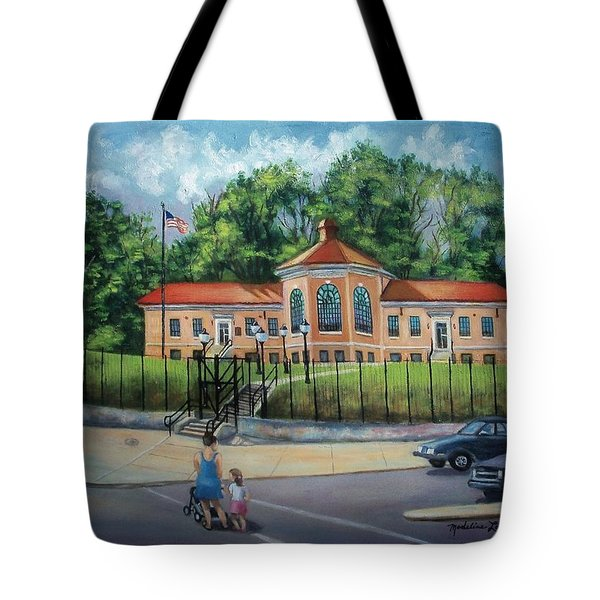 Fire Alarm Telegraph Station F.d.n.y. Building Tote Bag