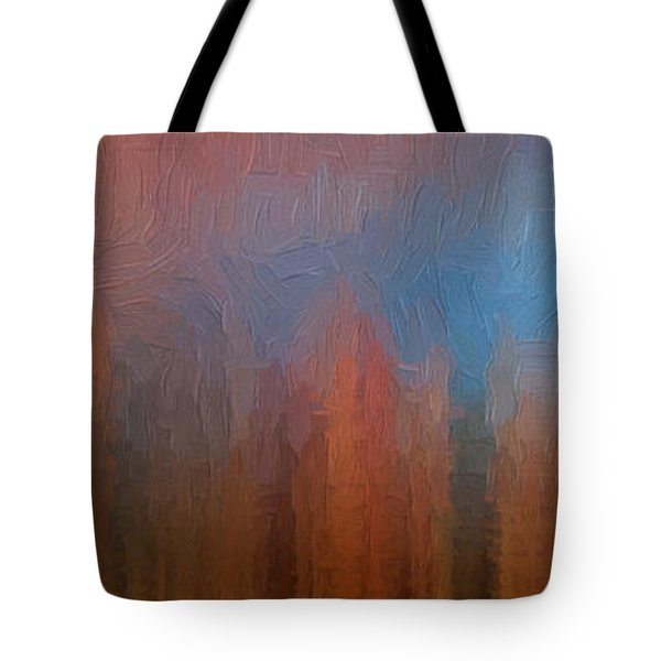 Tote Bag featuring the photograph Fire And Ice by Ken Smith