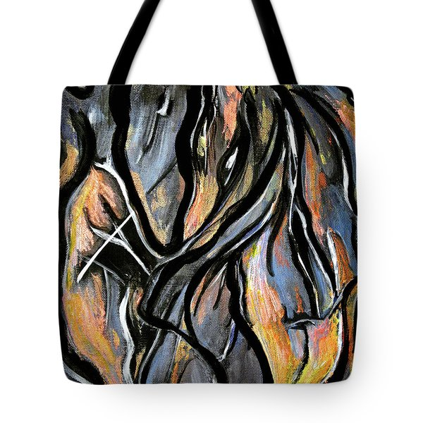 Fire And Stone Tote Bag