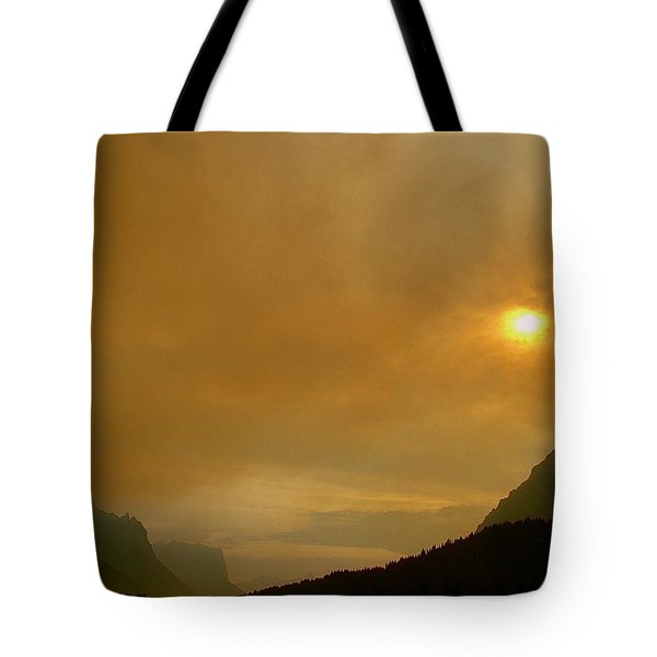 Fire And Sun Tote Bag