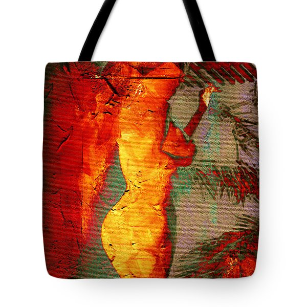 Fire Angel Tote Bag