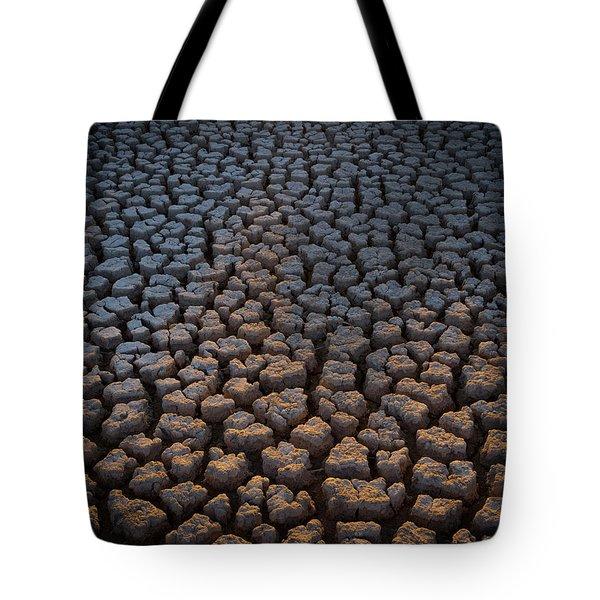 Fire Cracks Tote Bag