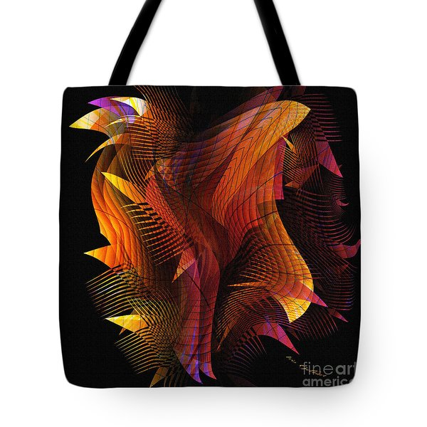 Fire Dance Tote Bag