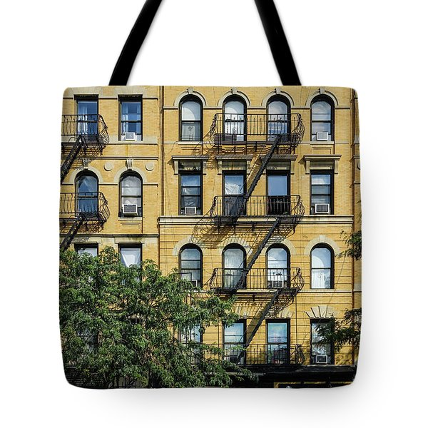Fire Eascapes On Columbus Ave Tote Bag