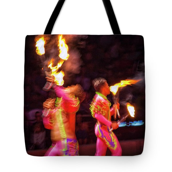 Fire Eaters Tote Bag