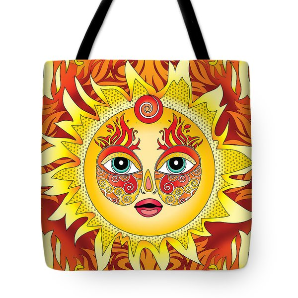 Fire Element Tote Bag by Serena King