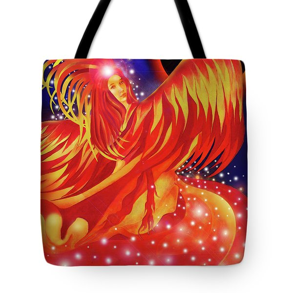 Fire Fairy Tote Bag