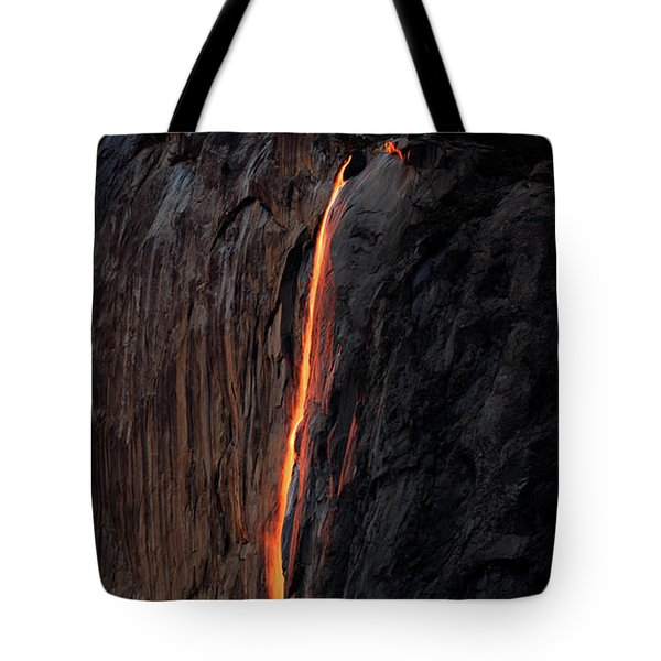 Fire Falls - 2016 Tote Bag