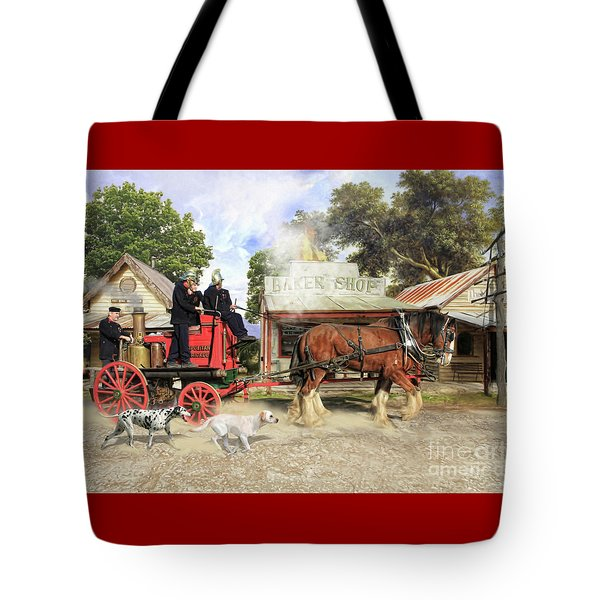 Fire Fire  Tote Bag