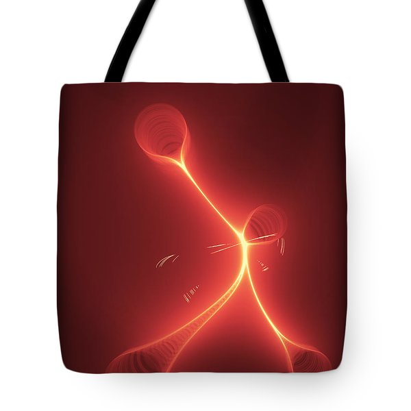 Fire Fly Tote Bag