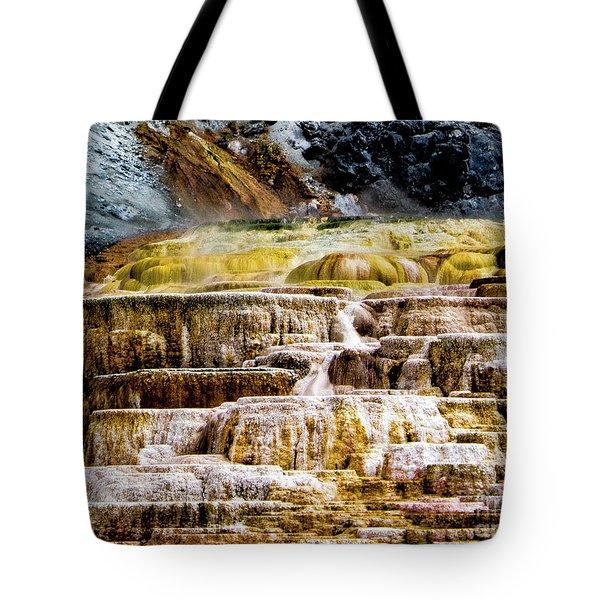 Hot Spring Tote Bag