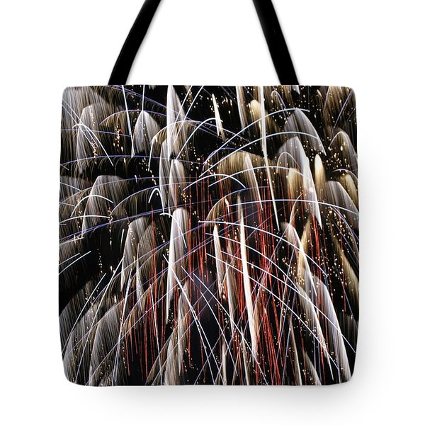 Fire Fountain Tote Bag