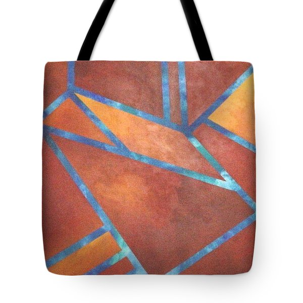 Fire From The Sky Tote Bag by Bernard Goodman