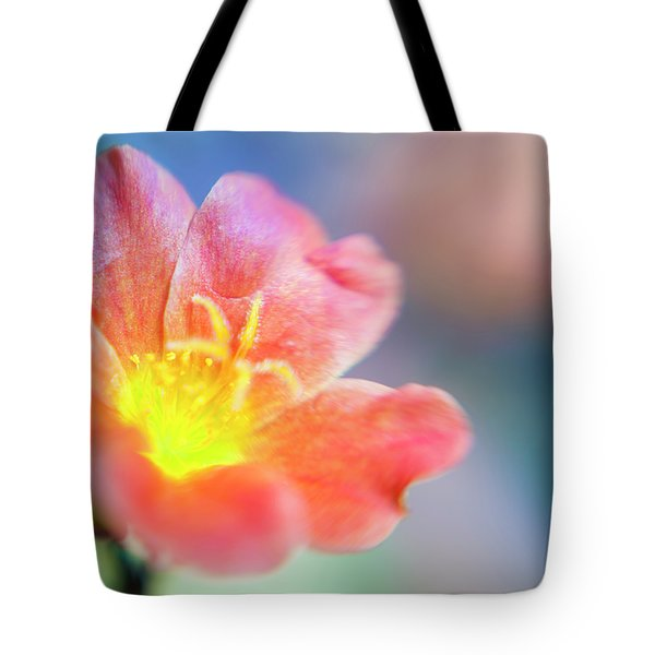 Tote Bag featuring the photograph Fire From Within by Christi Kraft
