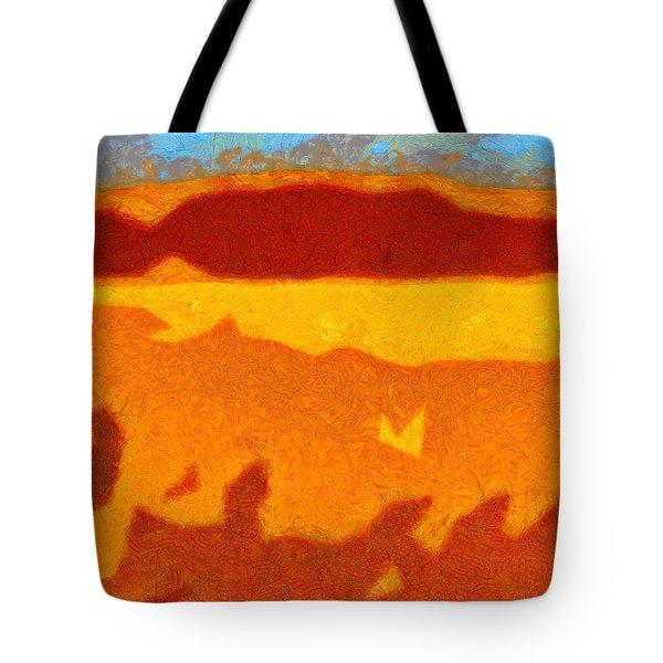 Fire Hill Tote Bag by Spyder Webb