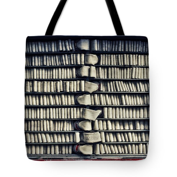 Fire Hose Tote Bag by Jutta Maria Pusl