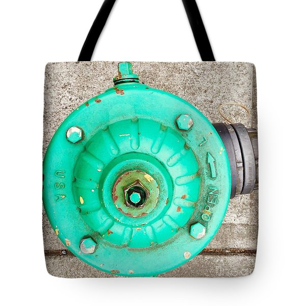 Fire Hydrant #6 Tote Bag