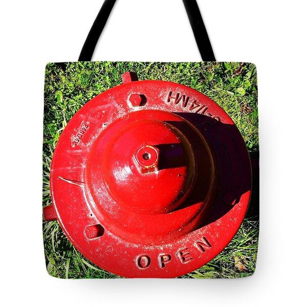 Fire Hydrant #8 Tote Bag