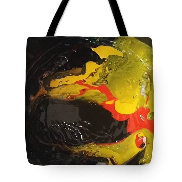 Fire In Soot Tote Bag
