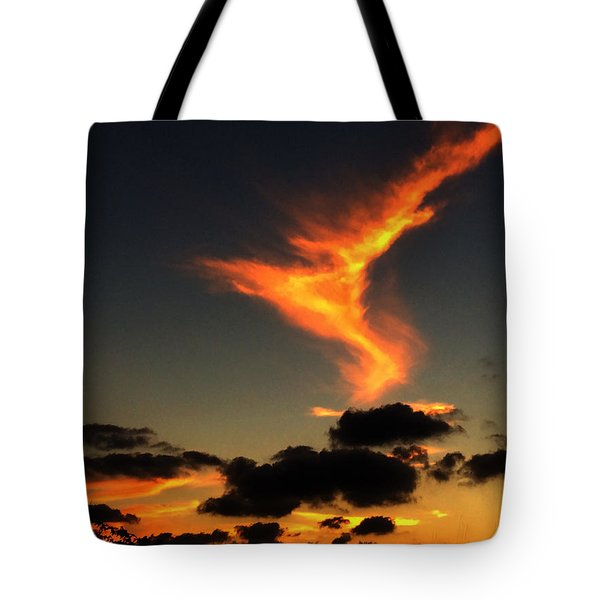 Early Evening Over Paros Island Tote Bag
