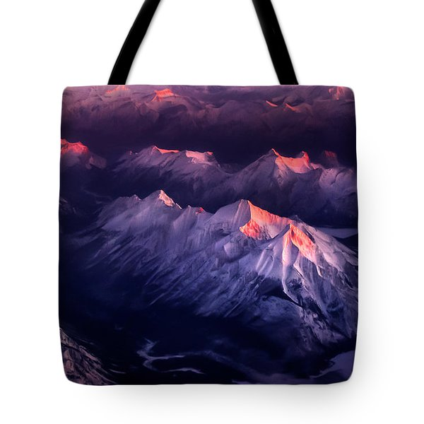 Fire In Ice Tote Bag