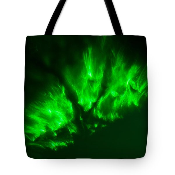 Tote Bag featuring the photograph Fire In The Sky by Greg Collins