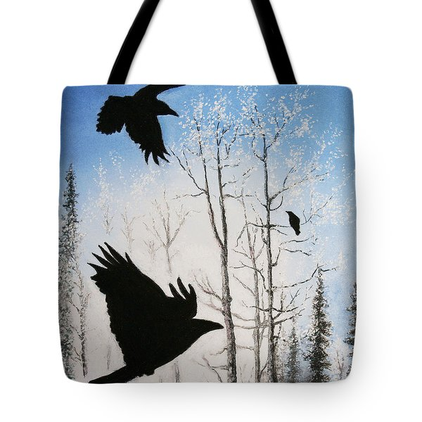 Fire In The Sky Tote Bag