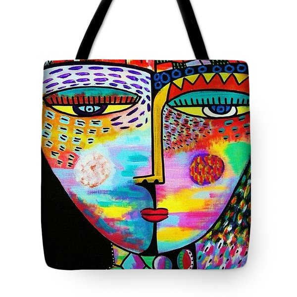 Fire Lava Goddess Tote Bag
