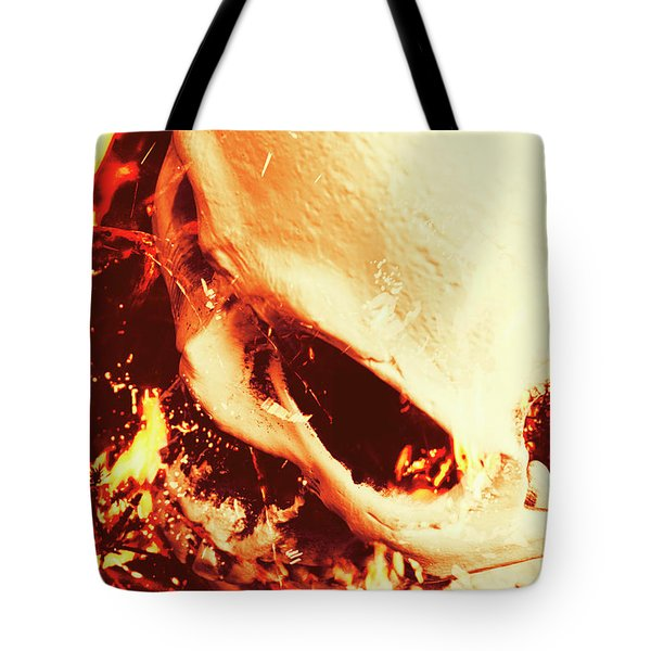 Fire Of Doom Tote Bag