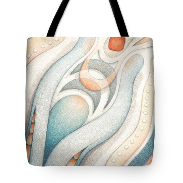 Fire Of Inspiration Tote Bag by Amy S Turner