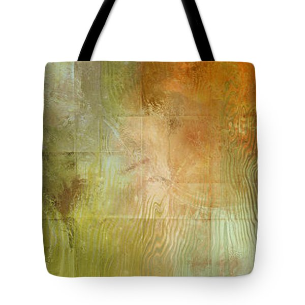 Fire On The Mountain - Abstract Art Tote Bag