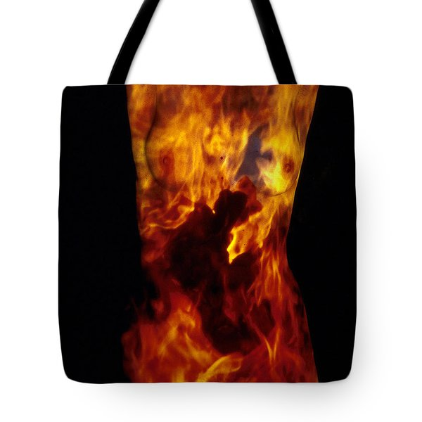 Fire One  Tote Bag by Arla Patch