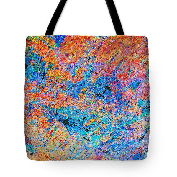 Fire Opal Tote Bag
