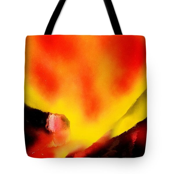 Fire Path Tote Bag