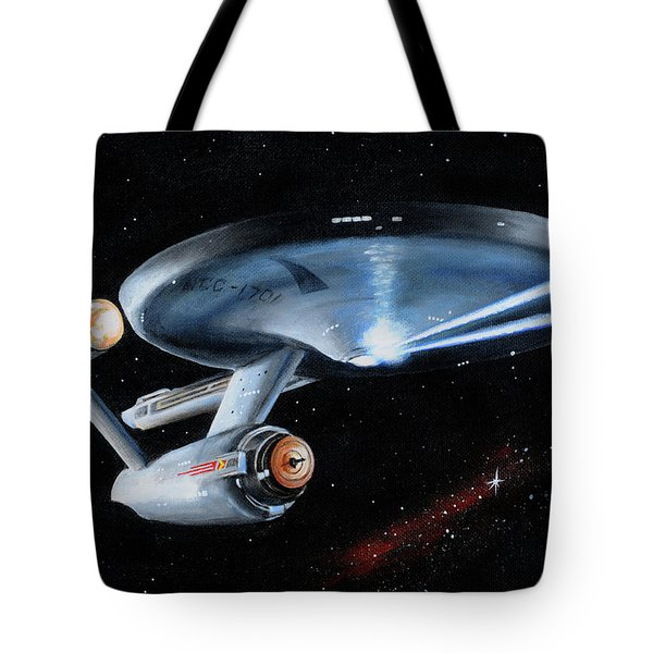 Fire Phasers Tote Bag