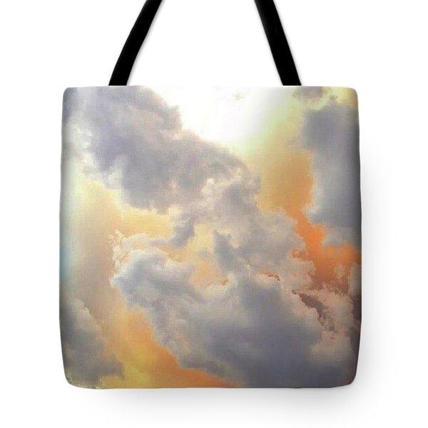 Fire Storm  Tote Bag