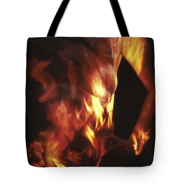Fire Two Tote Bag by Arla Patch