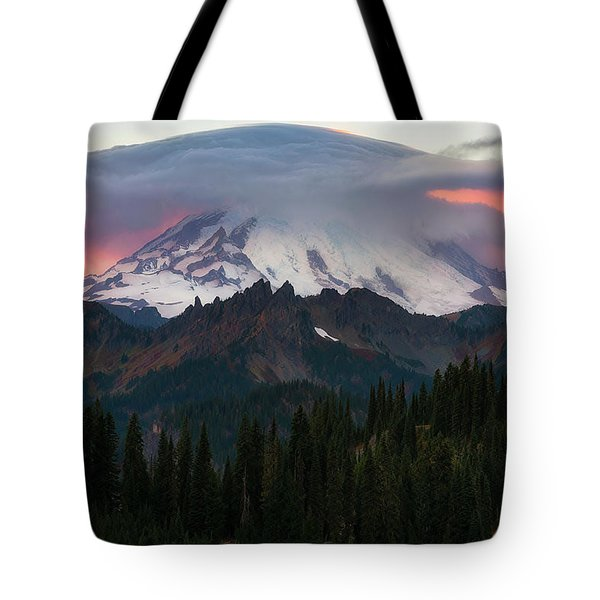Fire Under His Hat Tote Bag