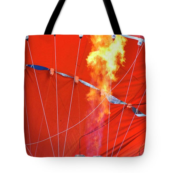 Fire Up Tote Bag by Brian Roscorla