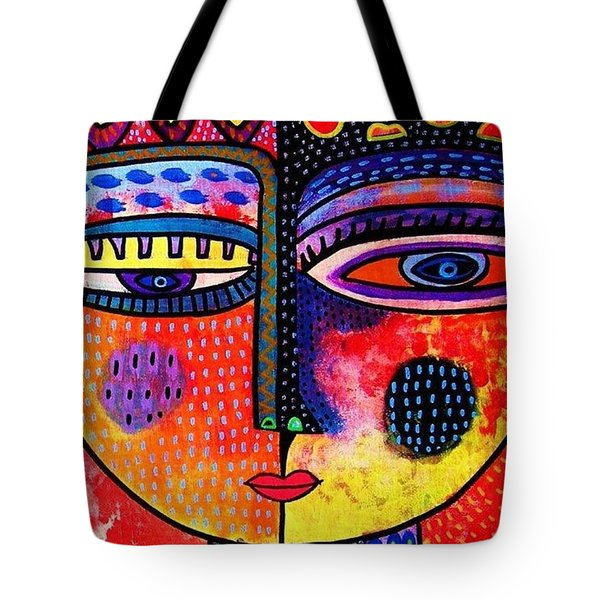 Fire Volcano Goddess Tote Bag