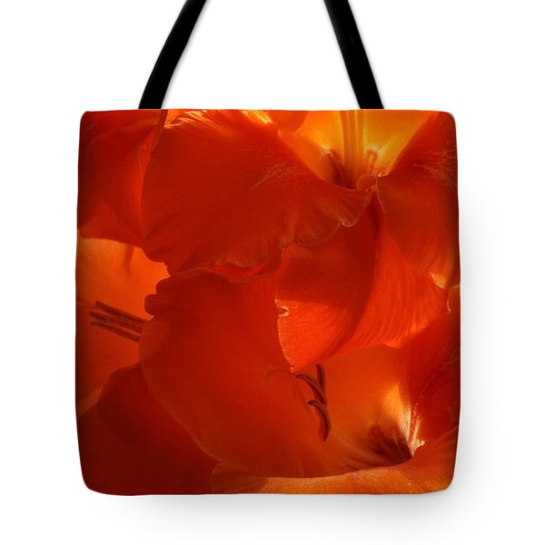 Fire Whispers Tote Bag