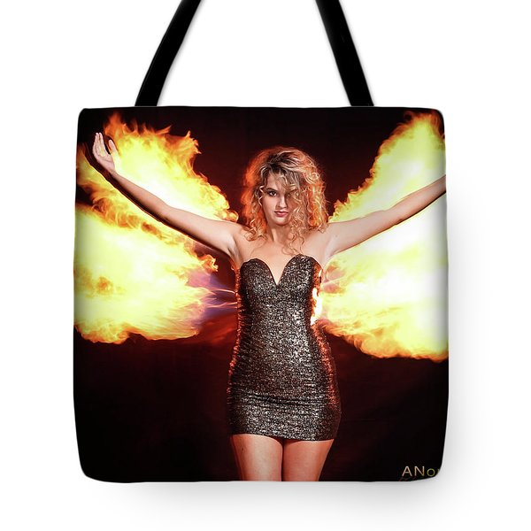 Fire Wings Tote Bag