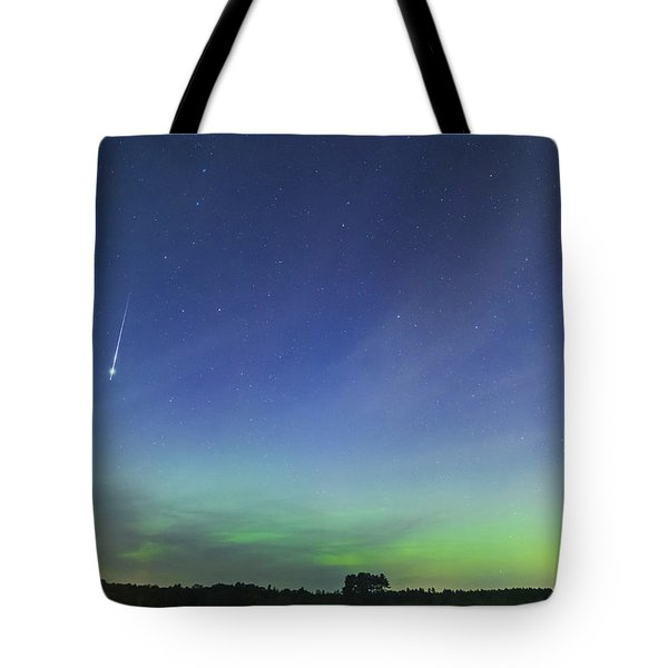 Fireball Two Over The Farm Tote Bag
