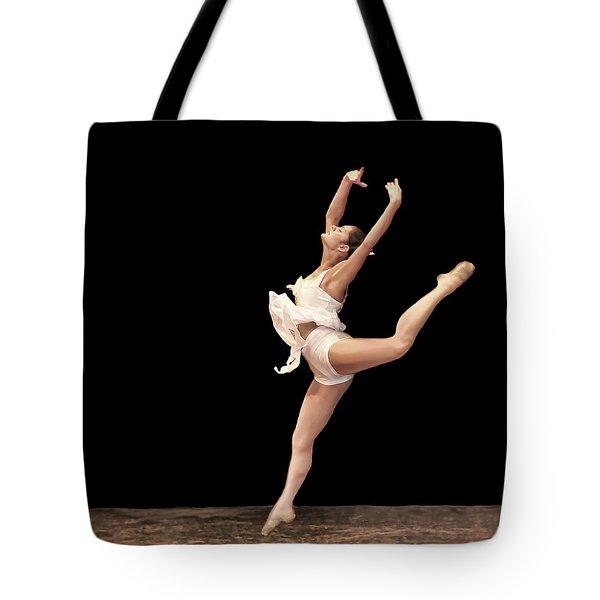 Firebird Ballet Position Tote Bag