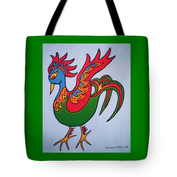 Firebird Tote Bag by Stephanie Moore