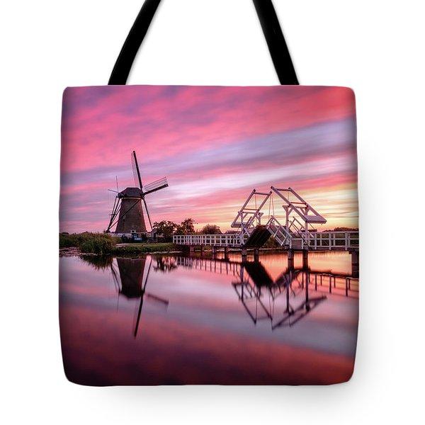 Fired Sky Kinderdijk Tote Bag
