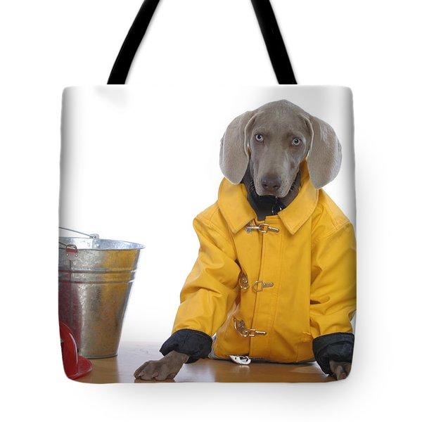 Firedog Tote Bag