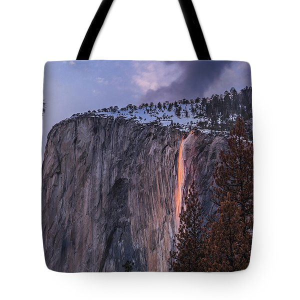Firefall Tote Bag